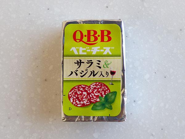 QBB 期間限定ベビーチーズ ワインに合うベビーチーズ サラミ&バジル入り